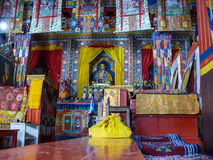 Buddhist Monastery near Ngawal, Nepal Royalty Free Stock Photo