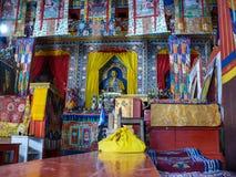 Buddhist Monastery near Ngawal, Nepal Royalty Free Stock Photo