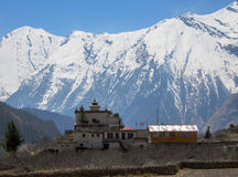 Buddhist monastery, Nepal Stock Photography
