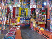 Buddhist Monastery in Ngawal - Nepal Royalty Free Stock Image