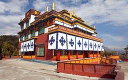 Buddhist Monastery in Pokhara town Royalty Free Stock Photos