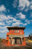 Buddhist monastery at Ravangla Royalty Free Stock Images