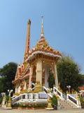 Buddhist monastery in Thailand Royalty Free Stock Photo