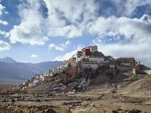 Buddhist monastery Tiksi India Himalayas Ladakh Stock Image