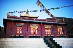 Buddhist monastery Tsechen Kunga Choeling Gompa in Muktinath, Ne Royalty Free Stock Image