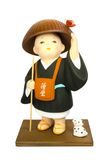 Buddhist monasticism cartoon, japanese souvenir Stock Photo