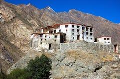 Buddhist monastry. Zanskar, Ladakh, India Royalty Free Stock Image