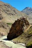 Buddhist monastry. Zanskar, Ladakh, India Royalty Free Stock Photos