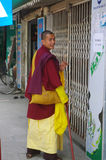 Buddhist monk Royalty Free Stock Photography