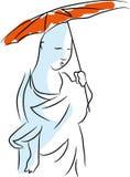 Buddhist monk. Royalty Free Stock Photography