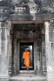 Buddhist monk in Cambodia Royalty Free Stock Photo