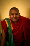 Buddhist monk, Dalai Lama temple, McLeod Ganj, India Royalty Free Stock Photography