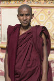Buddhist Monk - Monwya - Myanmar (Burma) Royalty Free Stock Images