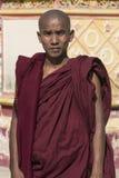 Buddhist Monk - Monwya - Myanmar (Burma) royalty free stock images