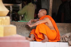 A Buddhist Monk Stock Images