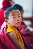 Buddhist monk, Nepal Stock Image