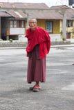 Buddhist monk at the Phodong Monastery, Gangtok, Sikkim, India Royalty Free Stock Photography