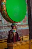 A Buddhist monk Stock Photography