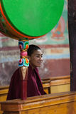 A Buddhist monk Stock Photography