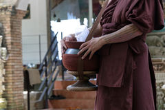 Buddhist monk's bowl Stock Images
