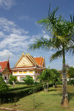 Buddhist monk sitting Temple, Thailand Royalty Free Stock Images