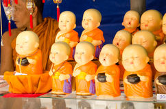 Buddhist Monk souvenir stall Royalty Free Stock Photo