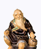 Buddhist monk statue Royalty Free Stock Images