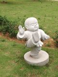 Buddhist monk statue Royalty Free Stock Image