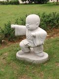 Buddhist monk statue Stock Images