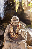 Buddhist monk statue Royalty Free Stock Photography