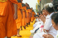 Buddhist monk Royalty Free Stock Images
