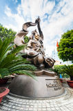 Buddhist monk Thich Quan Duc memorial monument. Ho Chi Minh (Sai Stock Photography