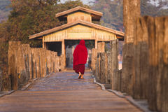 Buddhist monk Stock Photography