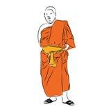 Buddhist monk. Stock Image