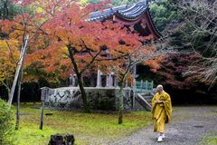Daigoji, Kyoto, Japan Royalty Free Stock Photo