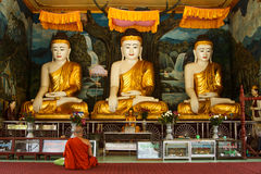 Buddhist monk Royalty Free Stock Photo