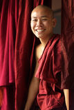 Buddhist monk. Young smiling Burmese Buddhist monk in Amarapura, Myanmar Royalty Free Stock Image