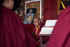 Buddhist monks Royalty Free Stock Photo