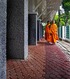 Buddhist monks Stock Photos