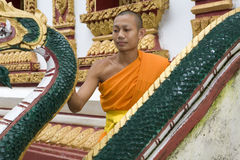 Buddhist monks Stock Photography
