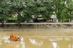 Buddhist monks in battambang cambodia Stock Photography