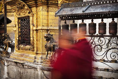 Buddhist monks Royalty Free Stock Images
