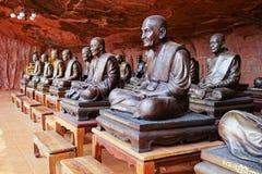 Buddhist monks memorial Stock Photo