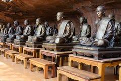 Buddhist monks memorial Royalty Free Stock Photos