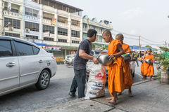 Buddhist monks Royalty Free Stock Photos