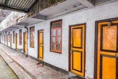 Buddhist monks quarters Royalty Free Stock Photos