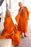 Buddhist Monks in Thailand Stock Image