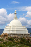 Buddhist mortar on the island Ogoy on Baikal Stock Photography