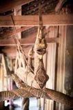 Buddhist mythical figure of Naga Royalty Free Stock Images