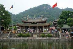 Buddhist Nanputuo temple in Xiamen, China Stock Photos